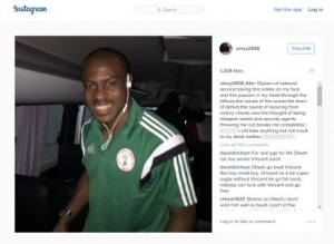 I Was Stripped Unclad And Thrown Out Of The Camp — Vincent Enyeama